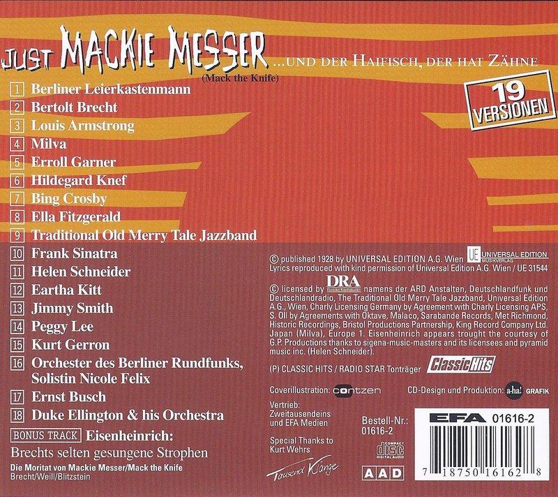 Just Mackie Messer Titel