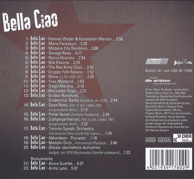 Bella Ciao Titel
