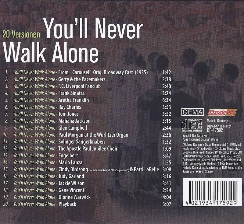 You'll Never Walk Alone Titel