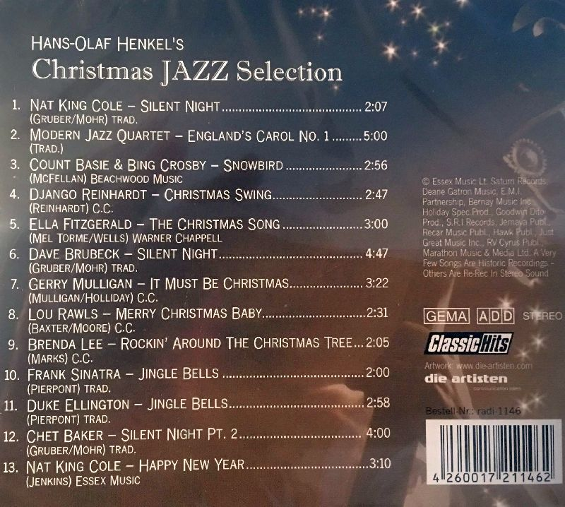 Hans-Olaf Henkel's Christmas Jazz Selection