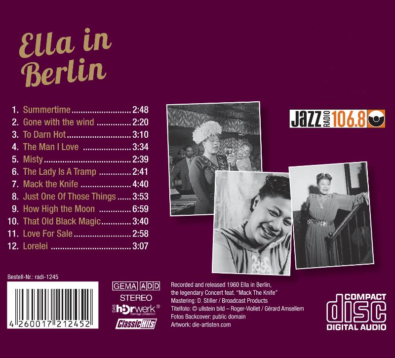 Ella in Berlin Inlay