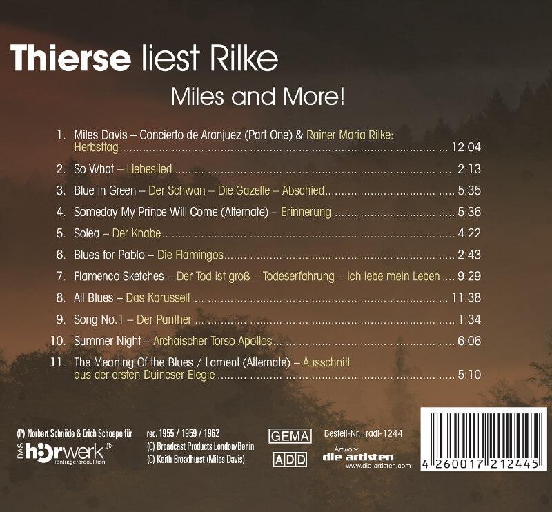 Inlay Thierse liest Rilke