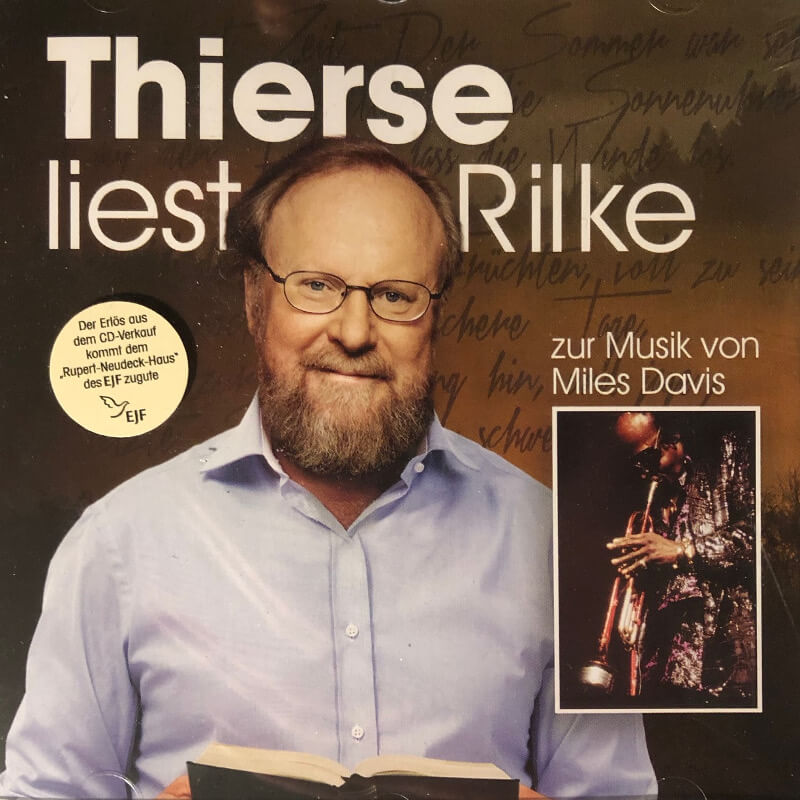 Cover Thiers liest Rilke Neudeck Sticker